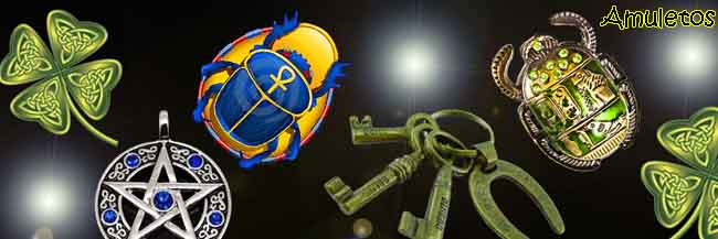 Amuletos y talismanes para la buena suerte