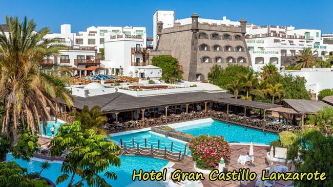 Hotel gran castillo de lanzarote playa planca