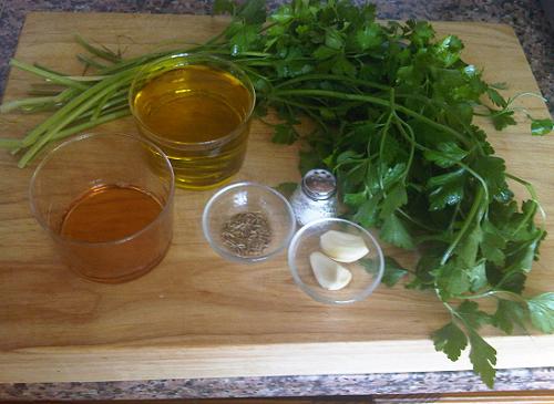 ingredientes-mojo-verde-canario-perejil