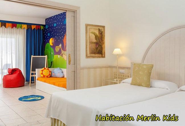 habitacion merlin kids hotel dream gran castillo lanzarote